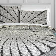 Grey Peacock Mandala Duvet Doona Cover Set – KraftDirect