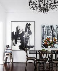 Black And White Abstract Art A History Lesson The Decorista