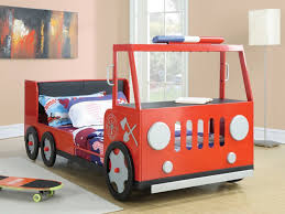 100 Fire Truck Loft Bed Room Bunk For Inspiring Unique Firefighter