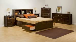 Fremont 4 Pcs Contemporary Queen Bedroom Set with Tall Nightstands