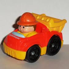 100 Little People Dump Truck FisherPrice T5630 Wheelies 2009 Mattel