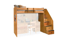 Low Loft Bed With Desk Plans by Bedrooms Astonishing Loft Bed With Stairs Plans Bamboo Picture