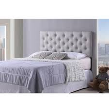 Diamond Tufted Headboard With Crystal Buttons by Tufted Headboards For Less Overstock Com