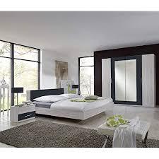 wimex schlafzimmer set bestehend aus schrank bett und nachtschränken liegefläche 180 x 200 cm weißeiche