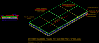 Polished Concrete Floor Dwg Autocad Drawing