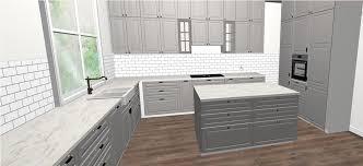 küchenplanung ikea metod bodbyn grau in landhaus
