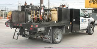 100 Public Service Truck Rental 2008 Ford F550 XL Super Duty Flatbed Service Truck Item H8