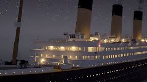 Titanic Sinking Simulation Real Time by Real Video Of Titanic Sinking Information
