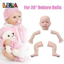 20inch Kits Dk 1 Reborn Baby Doll Kits Soft Silicone Mode Head 34