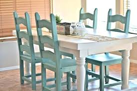 Colorful Kitchen Table Tables Regarding Dining Room Makeover Way Designs 9 Bright Colored