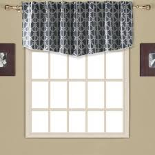 buy navy blue valances from bed bath beyond
