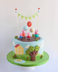 peppapig pig birthday cakes peppa pig birthday cake