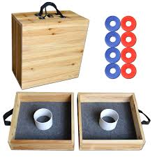 Amazon.com : GoSports Pine Wood Washer Toss Game Set : Sports ... Amazoncom Rivercity Pitching Washers 4 Red White With Outdoor Diy Washer Toss Game With Box For Lawn Games 3 Hole Boards Official Set Bean Bag Cornhole Sports Backyard Attractive And Outdoors Ideas Boxed Crane Ebth Other 159081 Gosports Premium Wood How To Build Board Redneck Horshoes Youtube Gosports Birch Fun Hathaway Setbg3115 The Home Depot
