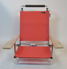 Deluxe Lay Flat 5 Position Beach Chair By JGR Copa