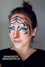 Halloween Half Mask Makeup by Best 25 Tiger Makeup Ideas On Pinterest Cat Makeup Leopard