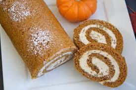 Libby Pumpkin Roll Recipe by Easy Pumpkin Cake Roll W Cinnamon Pecan Cream Cheese Filling