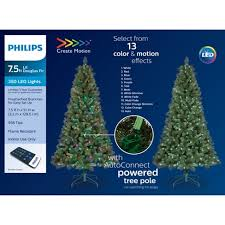 Philips 75ft Prelit Artificial Douglas Fir Christmas Tree Remote Controlled Multicolored LED Lights And Effects Target