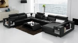 canape panoramique design canapé convertible rome table canapé d angle lit en cuir 7