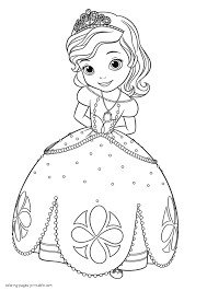 Coloring Pages Of Princess Sofia