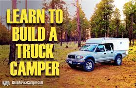 Diy Remove A Camper Jack by Homemade Slide On Truck Camper Demountable Build A Truck
