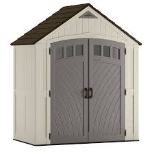 6x5 Shed Double Door by Shop Vinyl U0026 Resin Storage Sheds At Lowes Com