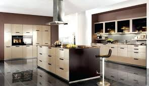 deco cuisine marron contemporain deco cuisine marron et beige galerie salle de bain a