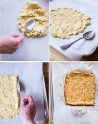 Step By Images Of The Process For How To Make Cauliflower Pizza Crust Including