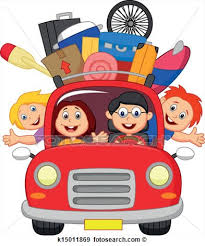 Packing Car Clipart