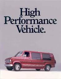 Image Is Loading 1991 Ford Waldoch Conversion Van Brochure R2792 JFGN8G