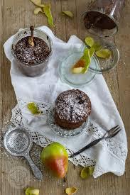 schoko birnenkuchen im glas küchentraum purzelbaum