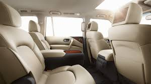 Suvs With Captain Chairs Second Row by 2017 Nissan Armada Reno Nv Nissan Of Reno