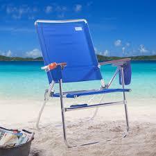 Telescope Beach Chairs Free Shipping by Rio Pacific Blue Hi Boy Beach Chair Walmart Com