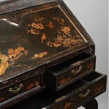 export bureau an 18th century export black lacquer bureau timothy langston