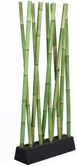 lebenswohnart bambus raumteiler paravento grün ca 97x200cm