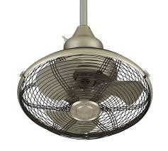 extraordinaire indoor outdoor ceiling fan satin nickel pottery barn
