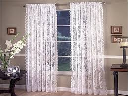 Lace Priscilla Curtains With Attached Valance by Living Room Domestications Curtains Ruffled Lace Curtains