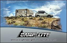 Camplite Ultra Lightweight All Aluminum Travel Trailers