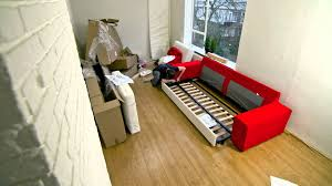 Ikea Sectional Sofa Bed Instructions by Building Ikea Kivik Couch Within One Minute Youtube