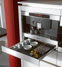 This Was My First Dream Machine A Built In Miele Capable Of Brewing Coffee Espresso Frothing Milk And Even Keeping The Mugs Dishes Or Pastries Warmed