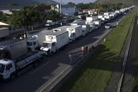 Brazil Says Deal Reached To Suspend Damaging Trucker Strike ... Soon American Highways Could Be Overrun With Selfdriving Trucks 1979 Press Photo Teamsters Strike Trucking Industry Historic Images The Toll Of Getting Products To Companies Like Target Costco And Truckers End Californias Port Strike Truckerplanet Minneapolis General 1934 Wikipedia Los Angeles Long Beach Port Truck Drivers Spread Strikes Rail Ordrive Founder Activist Mike Parkhurst Dies Chinese Startup Tusimple Plans Autonomous Trucking Service In Brazil Close Paralysis As Truckers Stops Fuel Deliveries Regs Cost Burden Ipdent Contractor Misclassification At Issue Massive In Prosters Shut Down Several