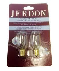25w replacement bulbs for seeall and jerdon lighted makeup mirrors