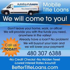 100 Commercial Truck Title Loans MobileScottsdale AutoEquity