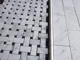 basketweave marble tile the builder depot