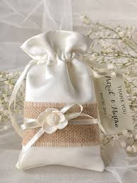 Photo 5 Of 7 Rustic Wedding Favor Bag Burlap Bags Beautiful Cake