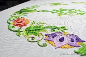 Secret Garden Embroidery Project