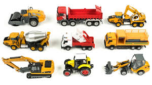Toys Truck For Kids | Wheel Loader, Excavator, Dump Truck, Road ...