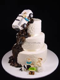 Brilliant Ideas Of Tractor Wedding Cake Topper With Additional 4wd By Haute