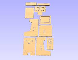 Bartop Arcade Cabinet Plans Pdf by Diy Arcade Cabinet Kits More Diy Minicade Free Plans