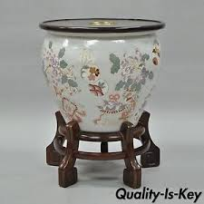 drexel heritage ming treasures porcelain chinese urn pedestal