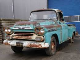 1958 Chevrolet Apache For Sale | ClassicCars.com | CC-1041840 58 59 Chevy Apache Fleetside Description Chevrolet Old Parked Cars 1958 Suburban Panel Truck Edit I Think Pickup Youtube Gmc Big Window Custom Short Bed For Sale Used 31 Cameo Carrier V8 Autopspbac Venice Fl 3100 Pick Up 57 American For Sale Craigslist Bgcmassorg Near Burke South Dakota 57523 Pickups To Steal The Show Lowvelder Suburban And Automotive News Lambrecht Prerves History Of Auction 2065258 Hemmings Motor News